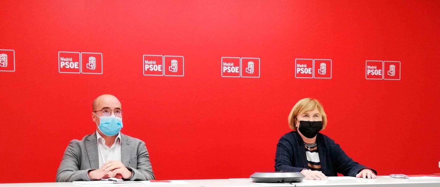 La Comisión Gestora del PSOE-M hace un llamamiento a la afiliación