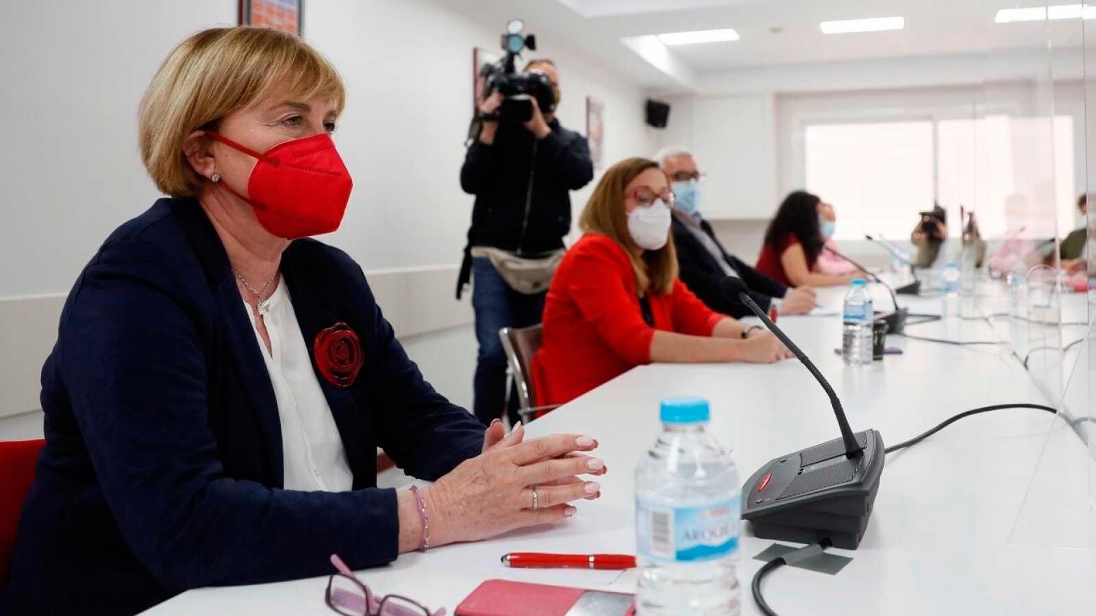 Isaura la Comisión Gestora del PSOE-M a la militancia