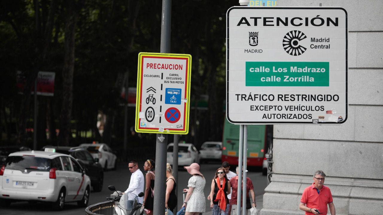 El PSOE exige al Gobierno municipal que explique qué va a hacer con las multas de Madrid Central