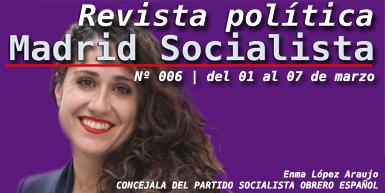 Revista Política | Madrid Socialista |🌹 | Nº 06