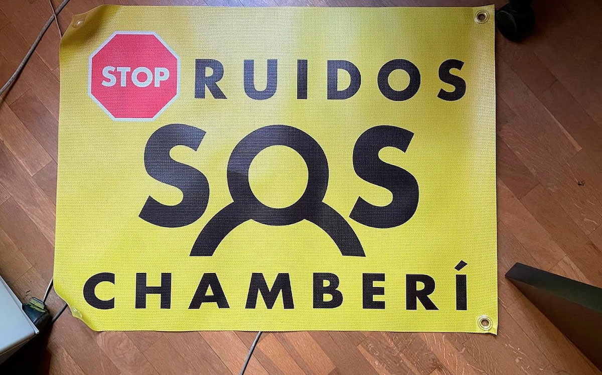 #STOPRuidos #SOSChamberí