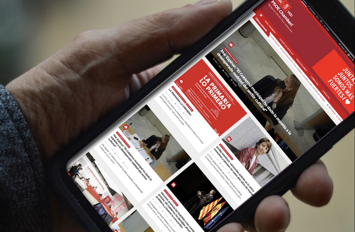 Nueva Web PSOE Chamberí