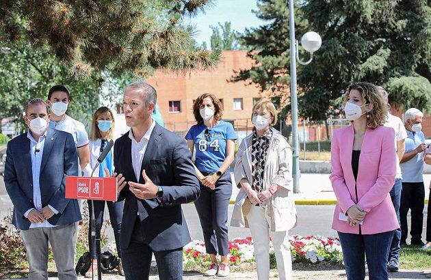 Hana Jalloul: El PSOE tiene en su ADN creer y defender la sanidad pública del desmantelamiento que pretende Ayuso.