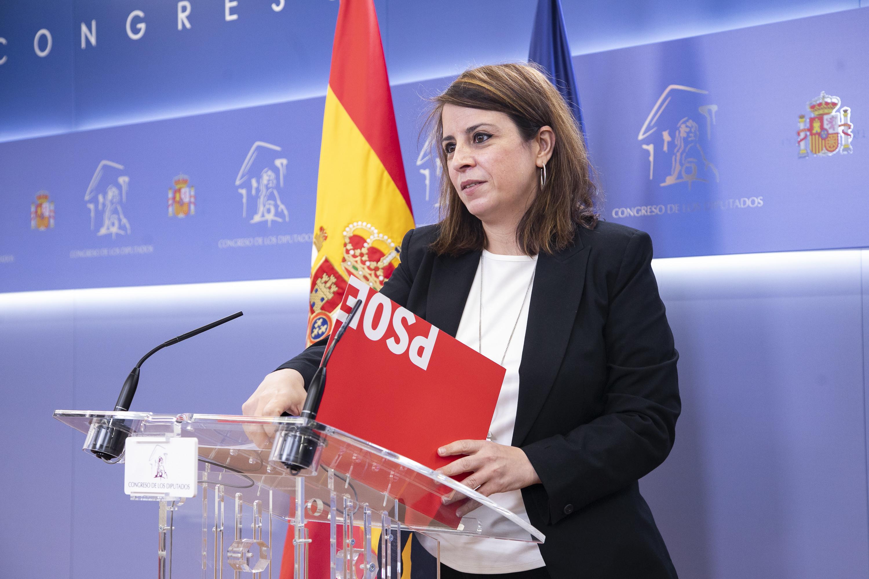 """Adriana Lastra: """"A Pablo Casado no le ha interesado luchar contra la pandemia, sino contra el Gobierno"""""""