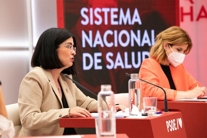 Presentación del capítulo sobre Sanidad de la Ponencia Marco del 40 Congreso del PSOE