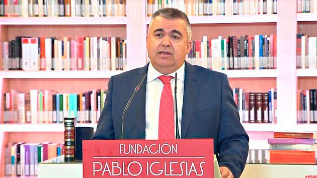 Santos Cerdán presidente de la Fundación Pablo Iglesias