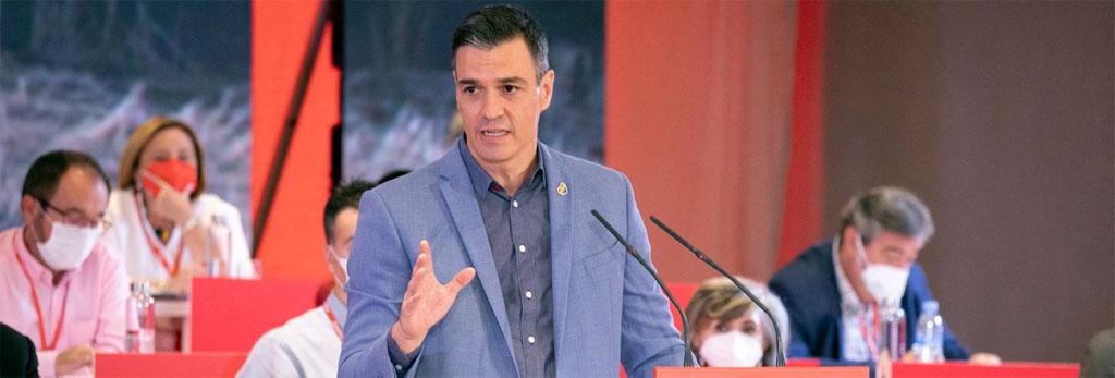 Carta a la militancia de Pedro Sánchez 010821