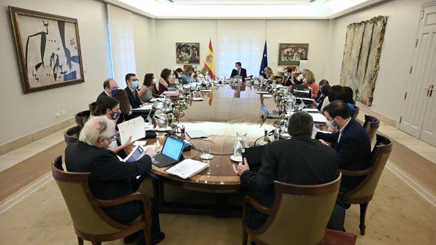 Reunión del Consejo de Ministros celebrado hoy