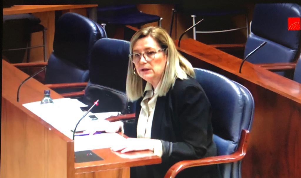 Marta Bernardo, Diputada en Asamblea de Madrid y portavoz Socialista Asamblea de Madrid de Educación