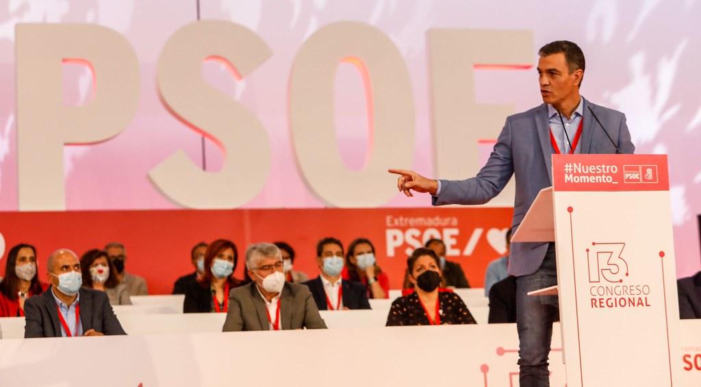 Pedro Sánchez: El PSOE es imprescindible porque nunca le falla a España